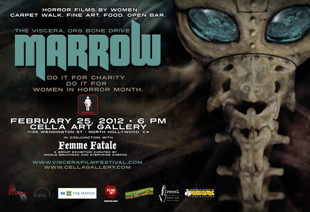 The Ghost & Us at Horror Fest Bone Marrow Drive