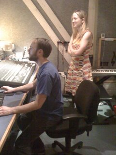 Recording the Score for The Ghost and Us