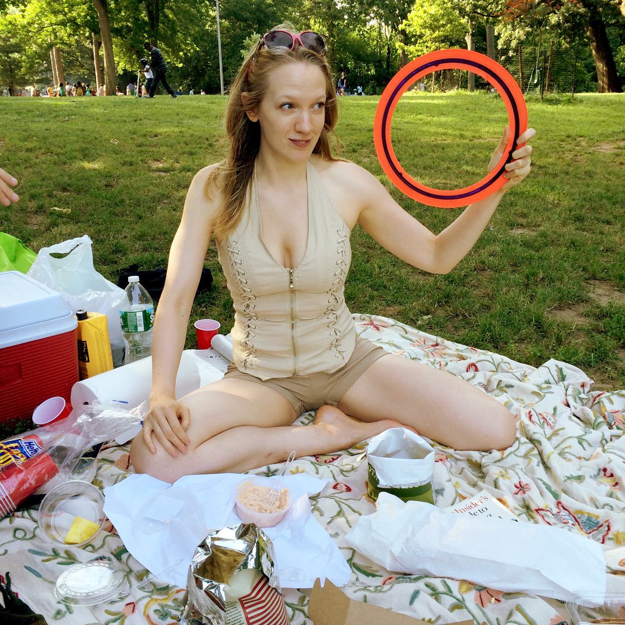 Emily Carmichael's Summer Picnic with Andrew Semans