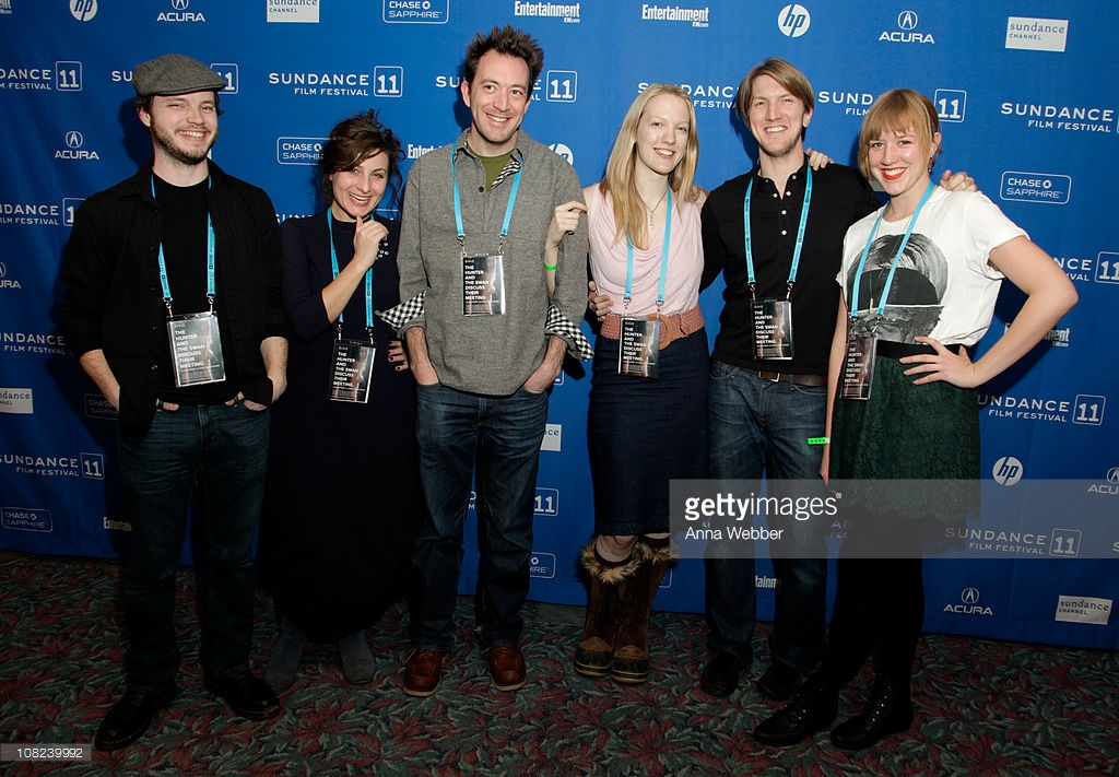 The Hunter and the Swan Team at Sundance