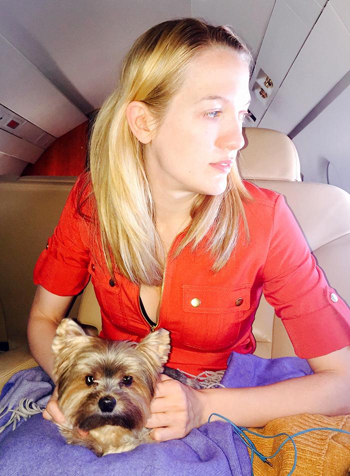 Emily Carmichael NYC to LA