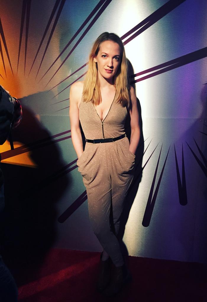 Emily Carmichael at Sundance 2016