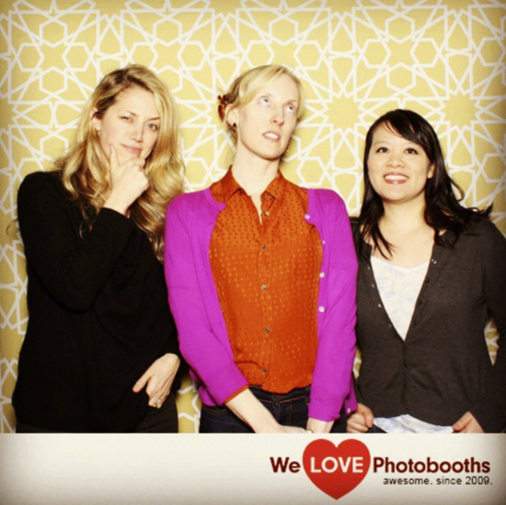 Producers Sara Murphy, Krista Parris and Mynette Louie