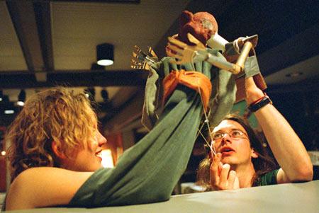 Handmade characters bring pathos, hilarity to 'Macbeth'