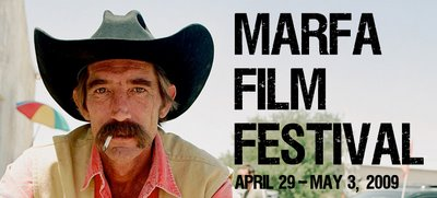 Ledo and Ix at Marfa film festival