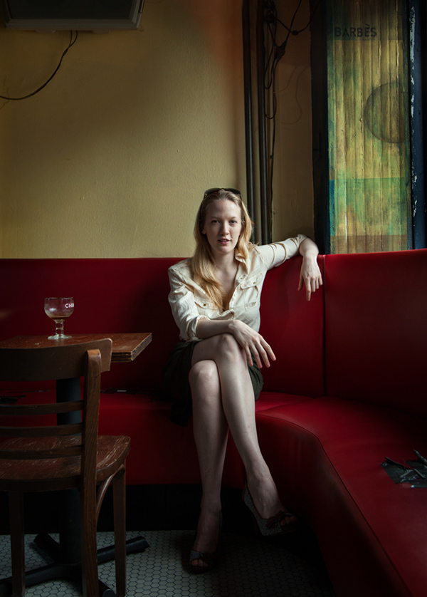 Filmmaker Emily Carmichael photographed by Richard Koek