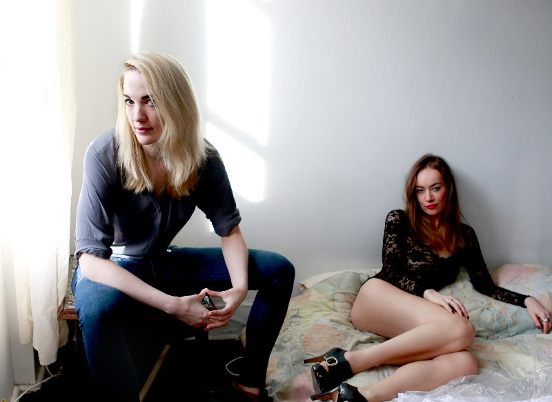 Emily Carmichael and Joanna Pickering Photographed by Jen Maler